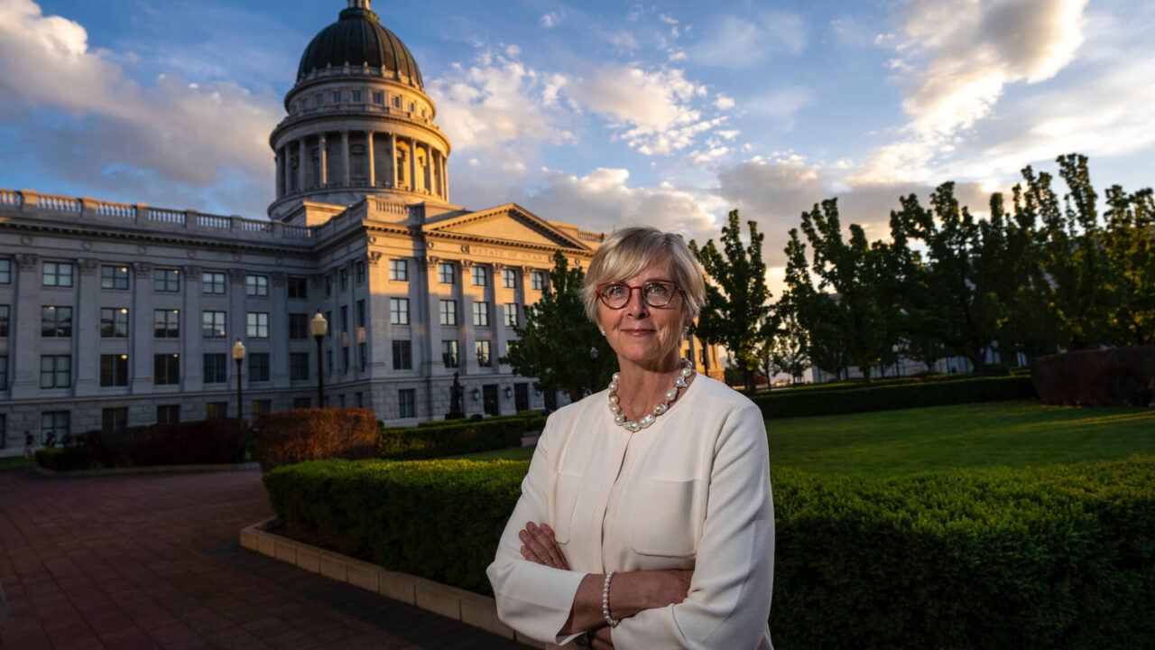 Rep. Becky Edwards To Challenge Lee For U.S. Senate Seat