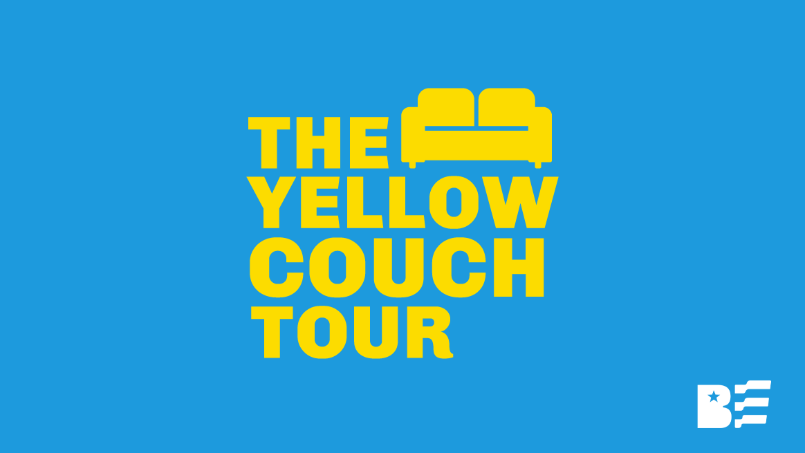 """Becky Edwards Launches Summer """"Yellow Couch Tour"""" In Provo"""